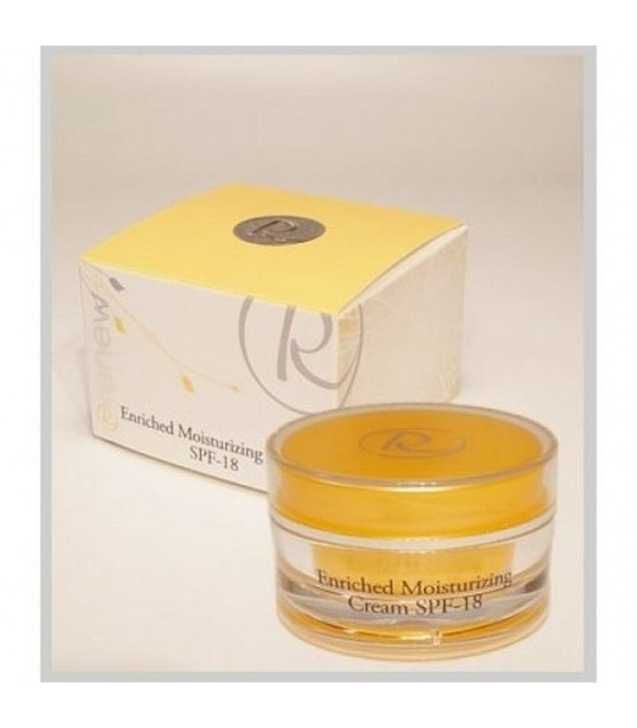 Enriched Moisturizing Cream - SPF-18 - Creams&Cleansers - Renew - 50 ml
